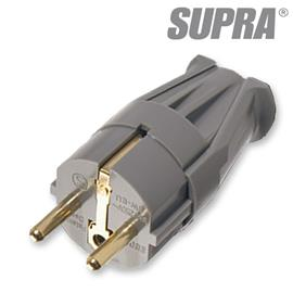 Supra Cables 3014000065 - LoRad SW-EU - Mains plug male (1 piece / anthracite)