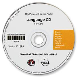 95164791 - OPEL Language CD (Version 2011/2.0)