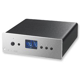 Pro-Ject Receiver Box S - Integrated amplifier with remote control (silver)