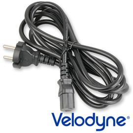 Velodyne Powercord - mains cable with safety plug and iec cord connector (1.8 m / black)