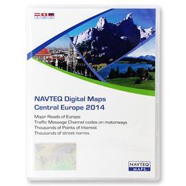 Navteq Mitteleuropa + MRE - T1000-21714 - ALFA ROMEO / FIAT / LANCIA Connect G2 DB3 CD 2014