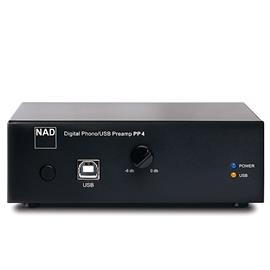 NAD PP4 - Digital-Phono/USB- Pre amplifier (gain 35dB / 58dB)