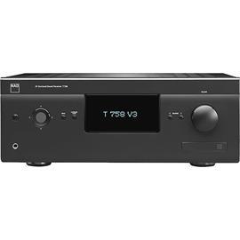 NAD T 758 V3 - 7.1 AV-Surround Sound-Receiver mit HDMI 1.4 (Dolby True HD / HD / 3D / graphitschwarzes Gehäuse)