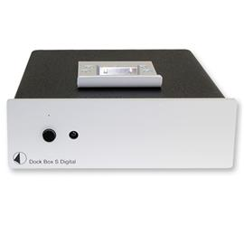 Pro-Ject Dock Box S Digital - docking station with D/A converter (silver)