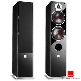 DALI Zensor 7 - 2,5-Way bass reflex floorstanding loudspeakers (40-150 W / black ash / 1 pair) - customer purchase in a very good condition - RRP = 858,- Euro