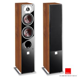 DALI Zensor 5 - 2,5-Way bass reflex floorstanding loudspeakers (30-150 W / light walnut / 1 pair)