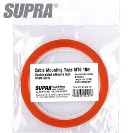 SUPRA Cables 1085100004 - Cable mounting Tape (10,0 m / MT6 / 6 mm)