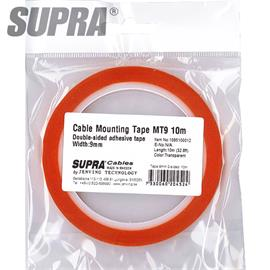 SUPRA Cables 1085100012 - Cable mounting Tape (10,0 m / MT9 / 9 mm)