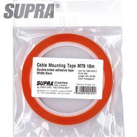 SUPRA Cables 1085100012 - beidseitiges Kabelmontageklebeband (10,0 m / MT9 / 9 mm)