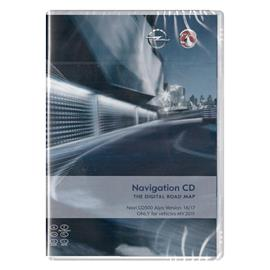 Navteq Alps - Opel CD500 MY2011 - Version 2016/2017 for Astra J / Insignia / Meriva