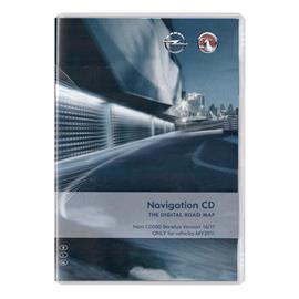 Navteq Benelux - Opel CD500 MY2011 - Version 2016/2017 for Astra J / Insignia / Meriva