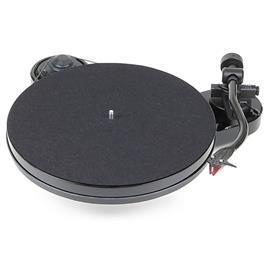 Pro-Ject RPM 1 Carbon - record player incl. tonearm + MM cartridge Ortofon 2M Red (high gloss black)