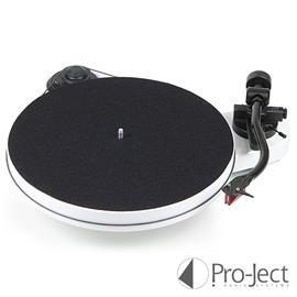 Pro-Ject RPM 1 Carbon - record player incl. tonearm + Ortofon - MM cartridge - 2M Red (white)