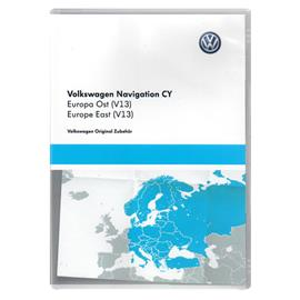 NAVTEQ Eastern Europe - 1T0 051 859 AL - Volkswagen for RNS510 / RNS810 (DVD / V13 / Version 2016)