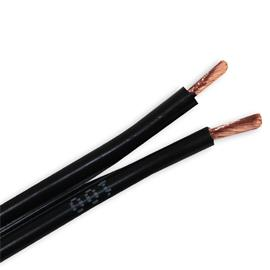 Oehlbach 1048 - Speaker Wire 25 - Loudspeaker cable flexible  (1m / black / copper / 2x2,5 mm²)