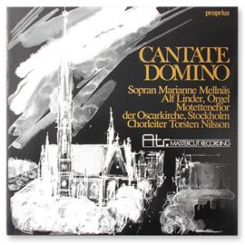 ATR Cantate Domino - LP (180 gram vinyl / ATR Mastercut Recording LP / new & sealed / ATR-LP 002)