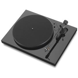 "Pro-Ject Debut III - record player with Ortofon OM 5E cartridge (Piano black / incl. straight 8,6"" tonearm)"