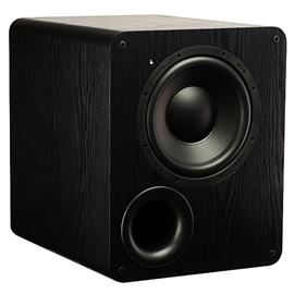 SVS PB-1000 - bass reflex active subwoofer (300 Watts RMS continuous power / 700 Watts maximum peak / matt black ash)