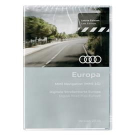 Navteq 4E0 060 884 FF - Europe - Audi navigation DVD (2018 / MMI 2G / 2 x DVD)