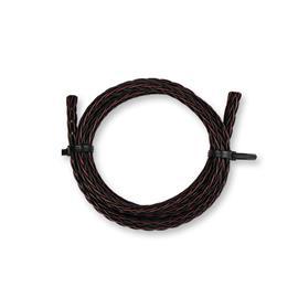 Kimber Kable 8PR - hochwertiges Lautsprecherkabel (2 x 2,5m / schwarz&braun / OFC / extra verflochten / 2 x 5,2mm²)