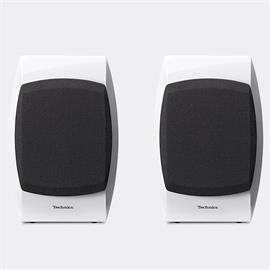 Technics SB-C700 - 2-Way bassreflex compact loudspeakers (100 Watts max. input power / coaxial / high-gloss white / 1 pair)