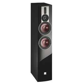 DALI Rubicon 6 - 2,5-Way bass reflex floorstanding loudspeaker (40-200 W / high gloss black / 1 piece)
