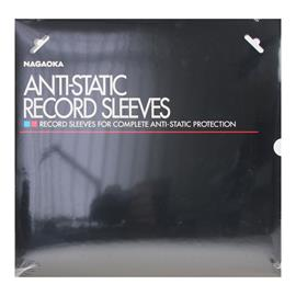 Nagaoka Antistatic record sleeves No.102 (50 pieces / transparent)