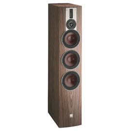 DALI Rubicon 8 - 3-Way bass reflex floorstanding loudspeaker (40-250 W / walnut veneer / 1 piece)