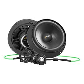 Eton UG VW GOLF 7 2.1 - 2-way speaker system for VW Golf 7 (2 x 145mm Woofer / 2 x 25 mm Tweeter / incl. crossover)