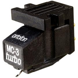 Ortofon MC-3 Turbo - MC cartridge for turntables (black / High-Output Moving-Coil)