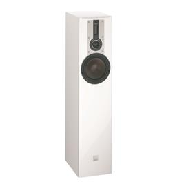 DALI Opticon 5 - 2,5-Way bass reflex floorstanding loudspeaker (30-150 W / matt satin white / 1 piece)