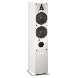 DALI Zensor 5 AX - active 2-Way bass reflex floorstanding loudspeakers (160 W / white / 1 pair)