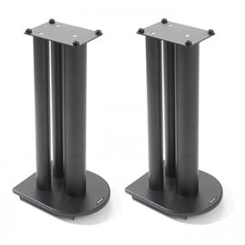 Atacama HMS 1.1 - high mass loudspeaker stands (700 mm / for heavy load / black / top plates = 145 mm width + 210 mm depth / 1 pair)