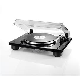 THORENS TD 206 - record player / turntable (incl. Thorens tonearm TP 90 / MM cartridge TAS 267 / high-gloss black)