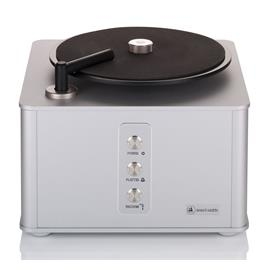 Clearaudio Smart Matrix Professional - record cleaning machine in aluminum silver