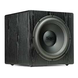 SVS SB-12 NSD - High end active subwoofer (400 Watts RMS continuous power / 800 Watts maximum peak / matt black ash)