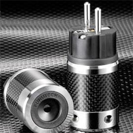 Furutech FI-E50R - Schuko connector (Carbon)