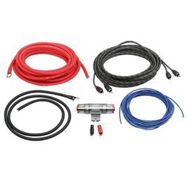 ACV LK-10 - Installations-Komplettset (Kabelset 10mm² / Endstufe Einbaukit für Endstufe Verstärker)