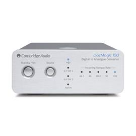 Cambridge Audio DacMagic 100 - digital/analog converter (silver / 24-bit/96 kHz)