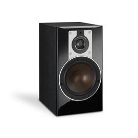DALI Opticon 2 - 2-Way bass reflex bookshelf-loudspeaker (30-150 W / black ash / 1 piece)
