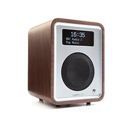 ruarkaudio R1 MKIII - tabletop radio (DAB / DAB+ / FM tuner / USB / A2DP-Bluetooth / walnut real wood veneer)