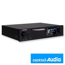 Cocktail Audio X40 with 4TB HDD hard drive (black / All-in-One HD music server / DAC / preamplifier with XLR / Phono Pre)