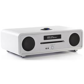 ruarkaudio R4 MKIII - sound system (DAB / DAB+ / FM tuner / USB / Apt-x-Bluetooth / fine matt white soft lacquer)
