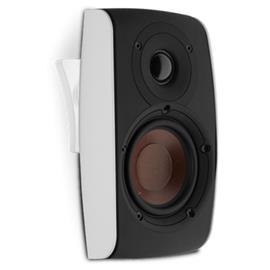 DALI Fazon SAT - premium loudspeaker incl. wall mount + table stand (20 - 120 Watts / high-gloss white / 1 piece)