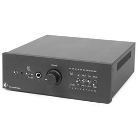 Pro-Ject Pre Box RS Digital - digital high-end preamplifier (DAC / XLR / headphone amp / incl. IR remote control / black)
