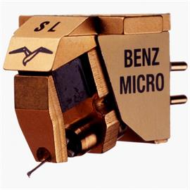 Benz Micro Glider S (L) - MC cartridge for turntables (L = Low Output / Micro Ridge Diamant / gold coloured / Moving Coil)