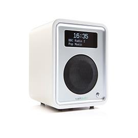 ruarkaudio R1 MKIII - tabletop radio (DAB / DAB+ / FM tuner / USB / A2DP-Bluetooth / fine matt white soft lacquer)