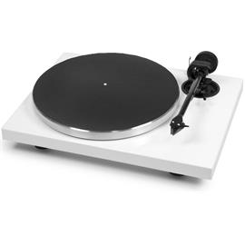 """Pro-Ject Xpression Carbon Classic - manual record player incl. Evo tonearm + Ortofon 2M Silver MM cartridge (gloss white / with 8.6"""" tonearm / incl. dust cover)"""