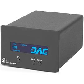 Pro-Ject DAC Box DS - digital/analog converter (USB / DAC / with display / black)