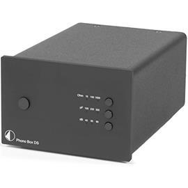 Pro-Ject Phono Box DS - premium phono preamplifier (MM/MC / black)